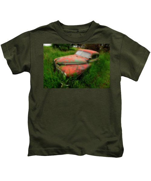 Abandoned In The Palouse Kids T-Shirt