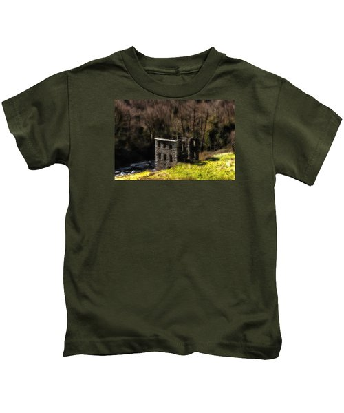 Abandoned Mill What Remains ... Kids T-Shirt