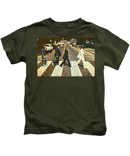 Abbey Road Watercolor Kids T-Shirt