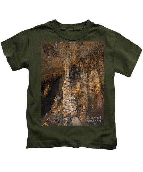 Above And Below In Luray Caverns Kids T-Shirt