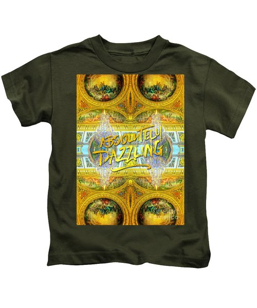 Absolutely Dazzling Hall Of Mirrors Versailles Palace Paris Kids T-Shirt