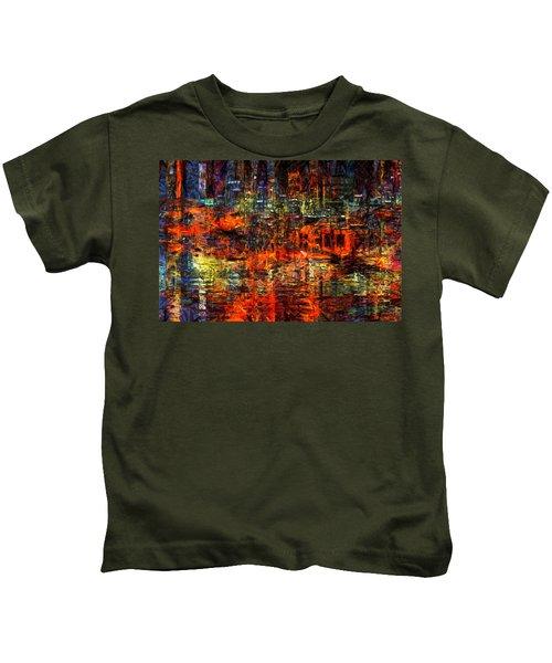 Abstract Evening Kids T-Shirt