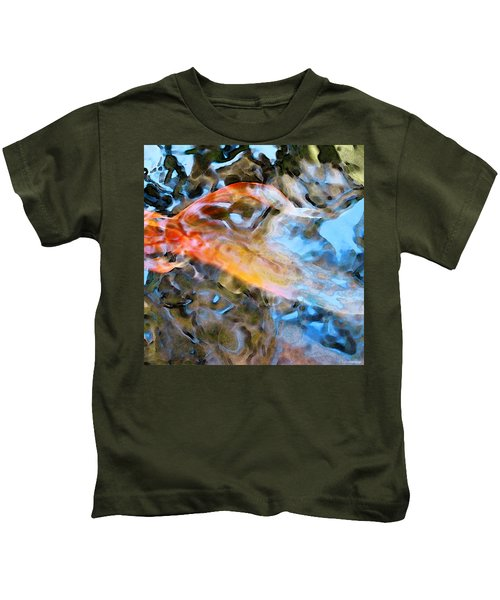 Abstract Fish Art - Fairy Tail Kids T-Shirt
