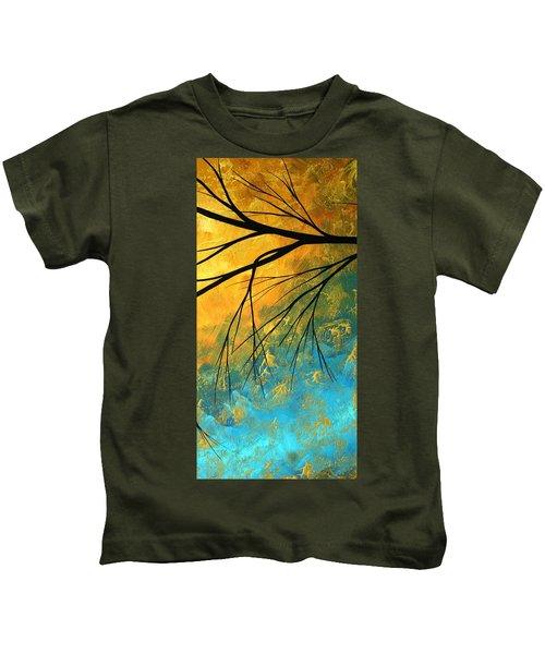 Abstract Landscape Art Passing Beauty 2 Of 5 Kids T-Shirt