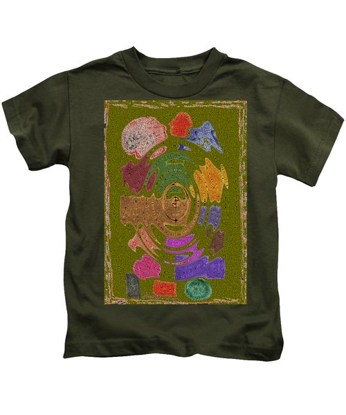 Abstract Shapes Kids T-Shirt