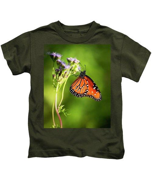 Addicted Queen Butterfly Kids T-Shirt