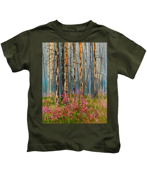 After Forest Fire Kids T-Shirt