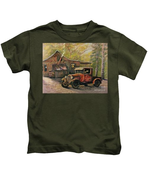 Agent's Visit Kids T-Shirt