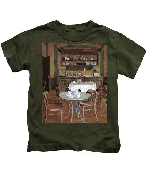 Al Lume Di Candela Kids T-Shirt