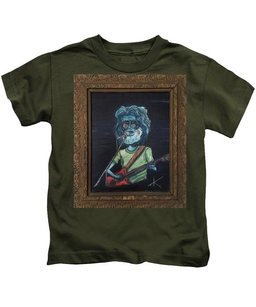 Alien Jerry Garcia Kids T-Shirt