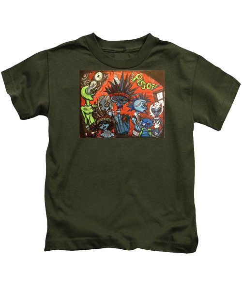 Aliens With Nefarious Intent Kids T-Shirt