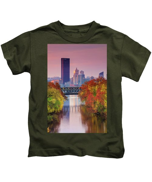 All Pittsburgh Pink  Kids T-Shirt