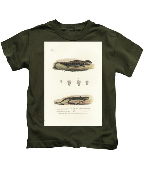 Alligator Lizards From Mexico Kids T-Shirt