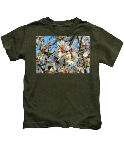 Almond Blossoms Kids T-Shirt
