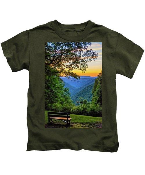 Almost Heaven - West Virginia 3 Kids T-Shirt