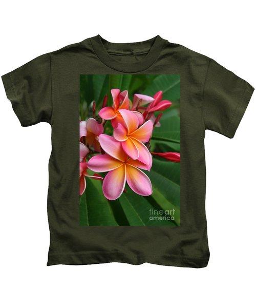 Aloha Lei Pua Melia Keanae Kids T-Shirt