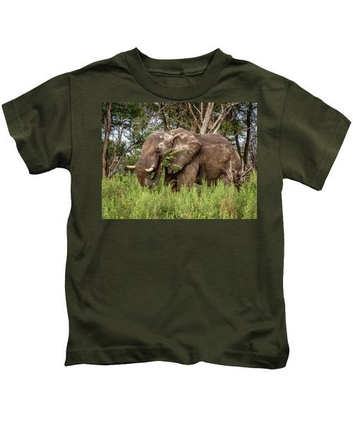 Alpha Male Elephant Kids T-Shirt