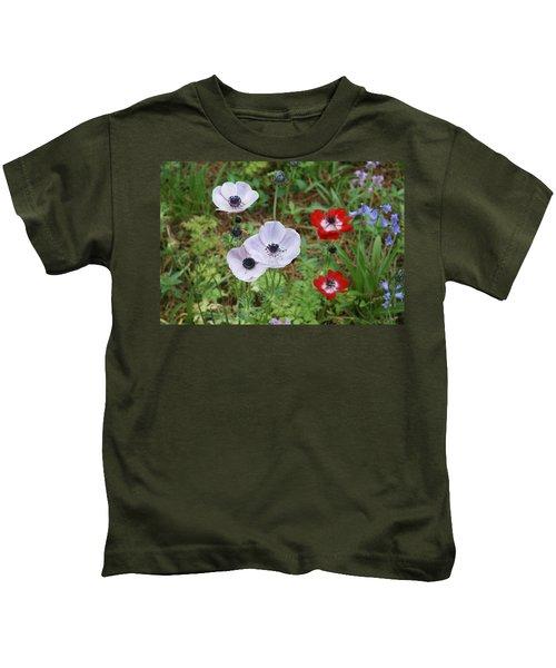 American Flowers Kids T-Shirt