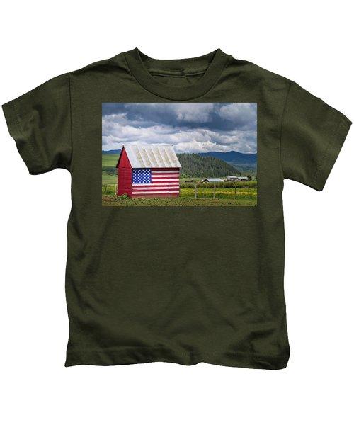 American Landscape Kids T-Shirt