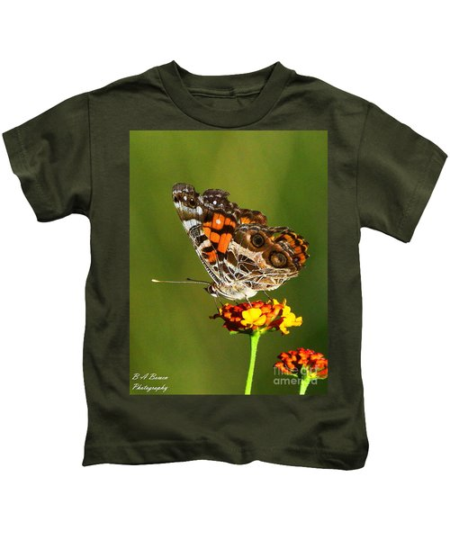 American Painted Lady Kids T-Shirt