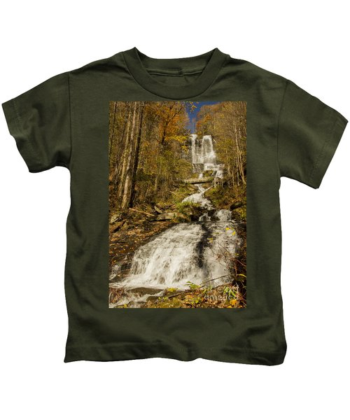 Amicola Falls Gushing Kids T-Shirt