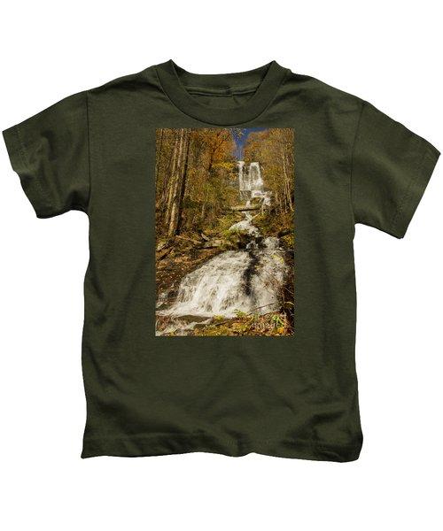 Amicola Falls Gushing Kids T-Shirt
