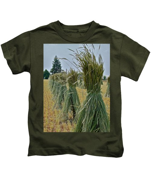 Amish Harvest Kids T-Shirt