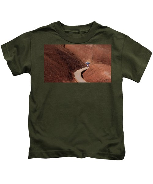 Among The Painted Hills Kids T-Shirt