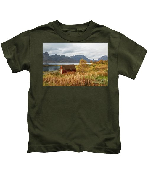 An Old Boathouse Kids T-Shirt