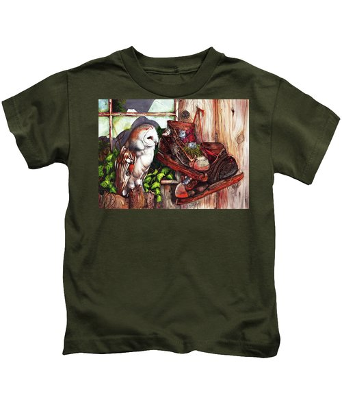 An Unwelcome Visitor Kids T-Shirt