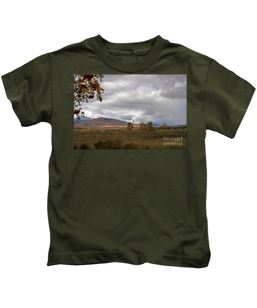 Anaconda Smelter Stack Kids T-Shirt