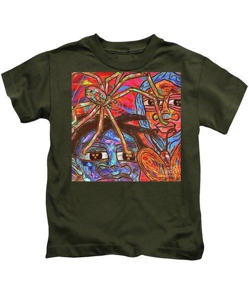Anansi's Web Kids T-Shirt