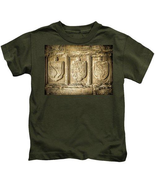 Ancient Carvings Kids T-Shirt