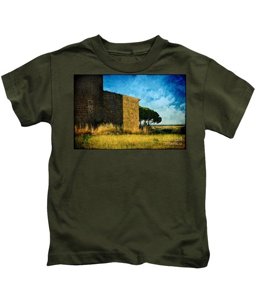 Ancient Church - Italy Kids T-Shirt