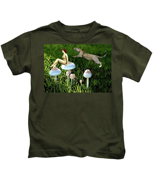 Angoisse Feminine#4 Kids T-Shirt