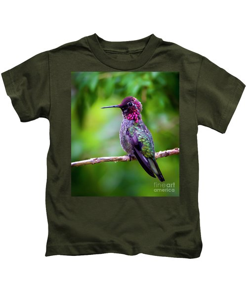 Anna Humming Bird Kids T-Shirt