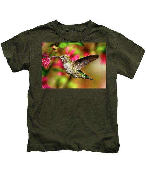 Anna's Hummingbird Kids T-Shirt