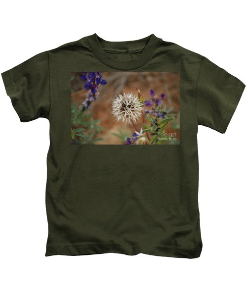 Another White Flower Kids T-Shirt