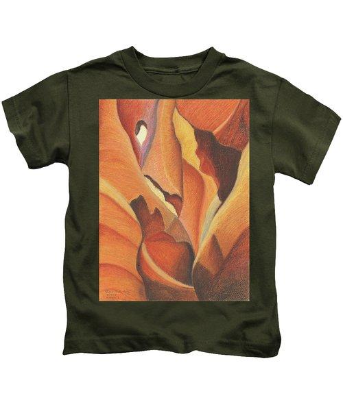 Antelope Canyon 4 - For Gloria Kids T-Shirt