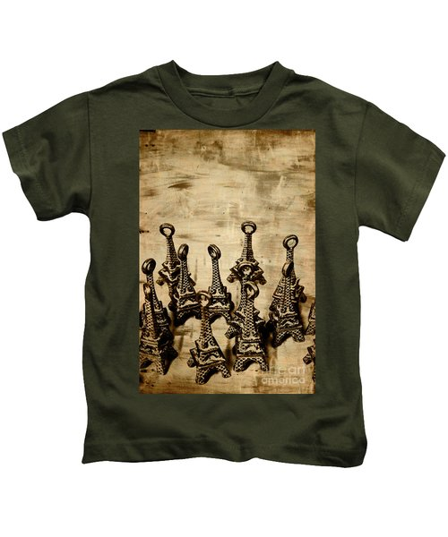 Antiques Of France Kids T-Shirt
