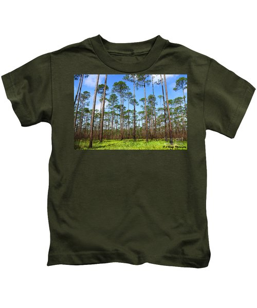 Appalachicola National Forest Kids T-Shirt