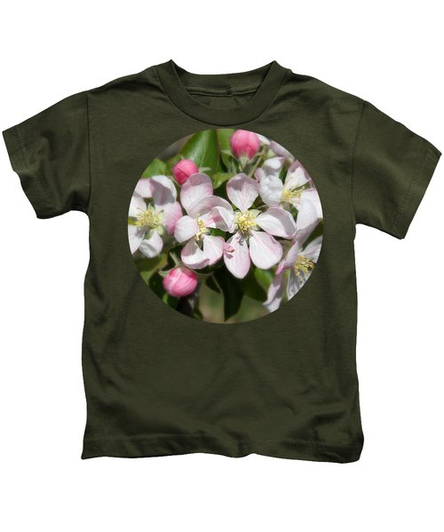Apple Blossom Time Kids T-Shirt