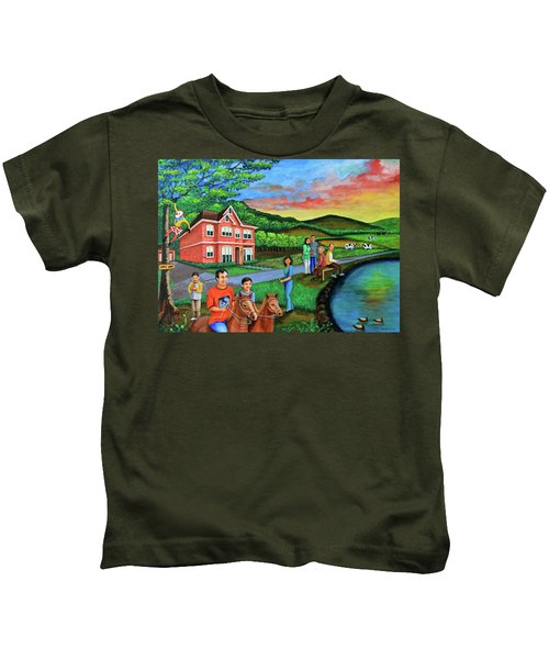 Apple Land Kids T-Shirt