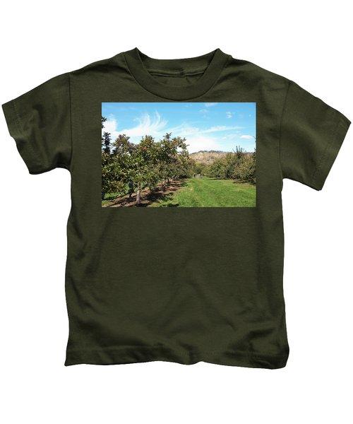 Apple Picking Kids T-Shirt