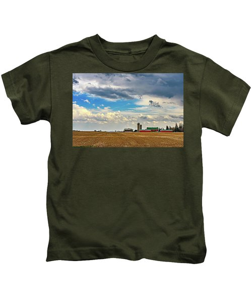 Approaching Spring Thunderstorm Kids T-Shirt