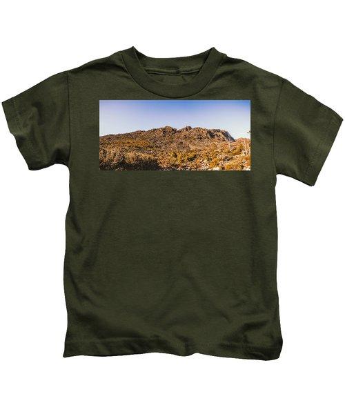 Arid Australian Panoramic Kids T-Shirt