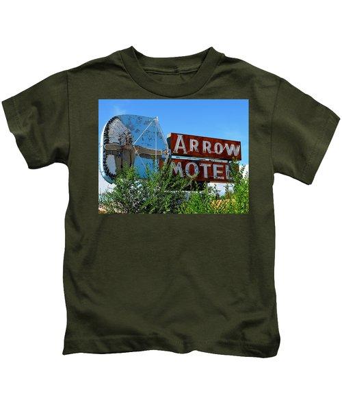 Arrow Motel Kids T-Shirt