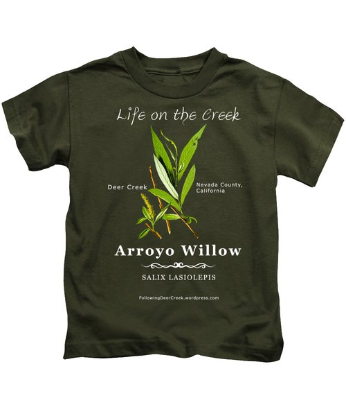 Arroyo Willow - Color Kids T-Shirt