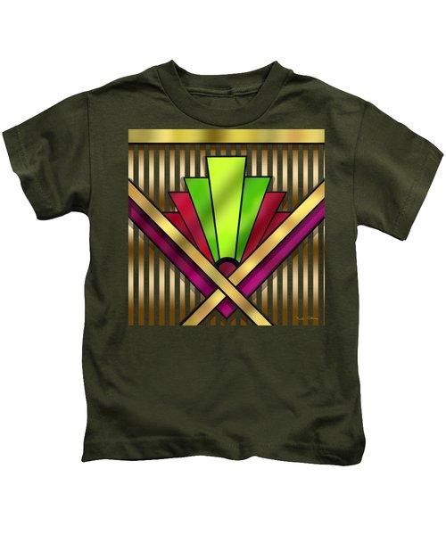 Art Deco 13 Transparent Kids T-Shirt