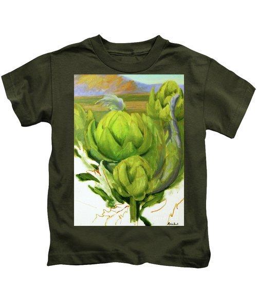 Artichoke  Unfinished Kids T-Shirt